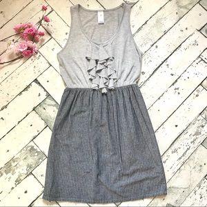 Anthro Needle & Thread Mixed Media Dress Sz Small